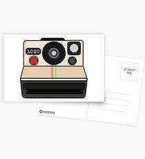 Polaroid land camera Postcards