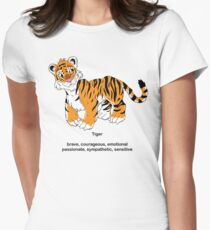 Chinese Zodiac Tee--Year  of the Tiger Women's Fitted T-Shirt