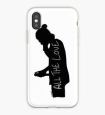 Harry Silhouette iPhone Case