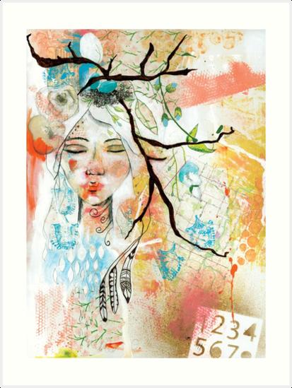 Wild Woman Seeker by Ginger Deverell