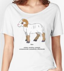 Chinese Zodiac Shirt--Year of the Ram Women's Relaxed Fit T-Shirt