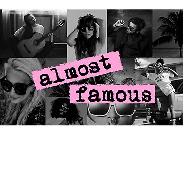 ALMOST FAMOUS PINK + MONOCHROME by VintageEmpire
