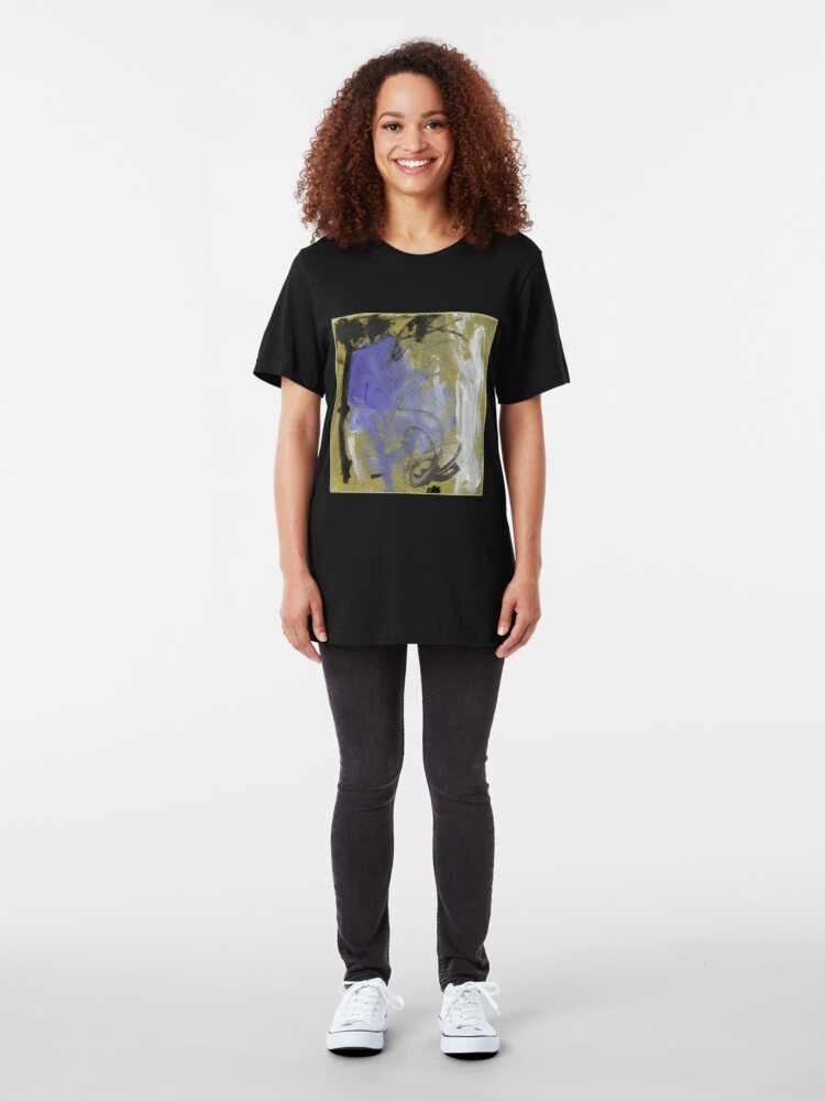 Alternate view of Abstract before Christmas II  Slim Fit T-Shirt