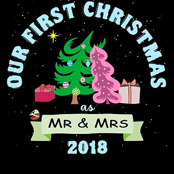 Our First Christmas Story Shirt for Couple - Mr & Mrs Shirts by KiRUS