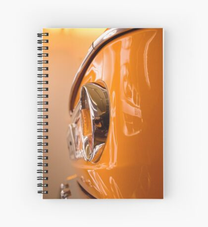 orange glow I Spiral Notebook