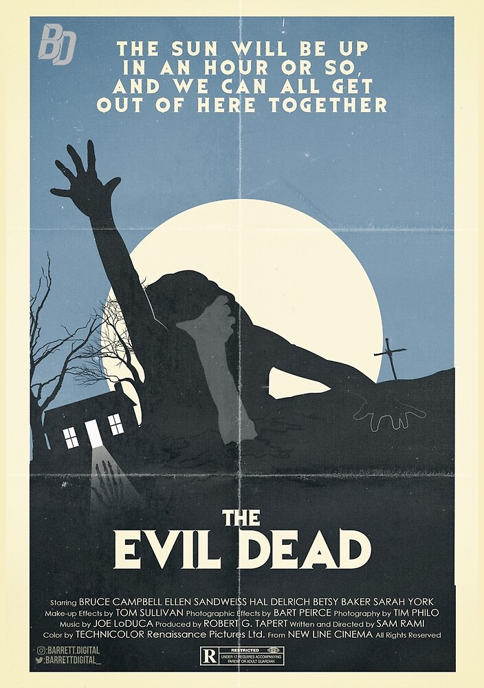 The Evil Dead Poster by BarrettDigital