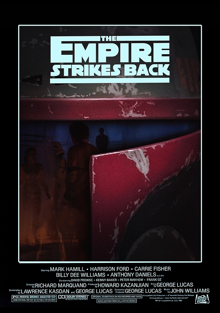 "FAN ART: ""The Empire Strikes Back"" Poster by BarrettDigital"