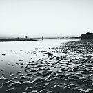 Low Tide at Hove Beach, England by Ms-Bexy