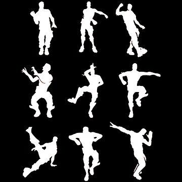 Dance Fortnite Black  by OtakuPapercraft