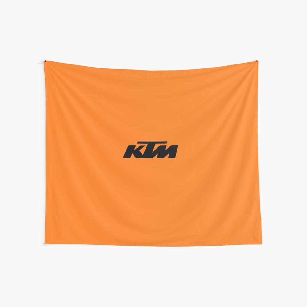 KTM Racing Wandbehang