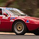 Ferrari 308 GT4 Dino, Classic Adelaide Car Rally 2009 by SusanAdey