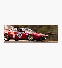 Ferrari 308 GT4 Dino, Classic Adelaide Car Rally 2009 Photographic Print