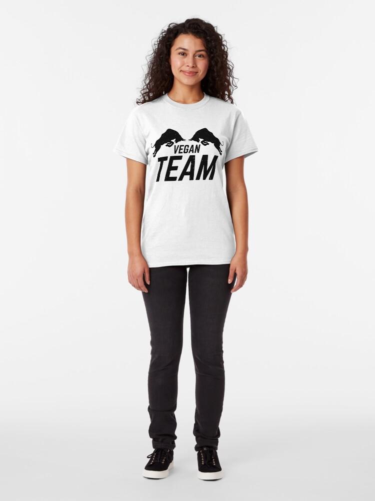 Alternate view of Vegan Team Classic T-Shirt