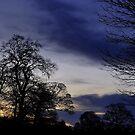 Autumn Evening View. by Finbarr Reilly