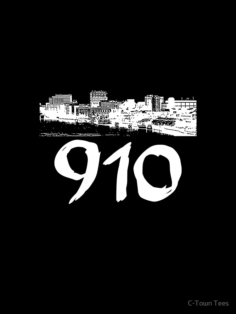 Wilmington - 910 (White Logo) by Klay70