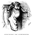 Stocking of Contents - Thomas Nast  by BestPaintings