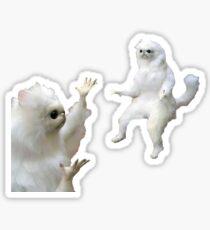 persian cat meme Sticker