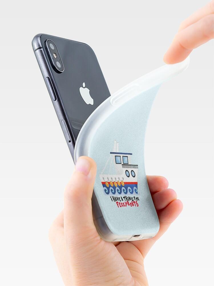 Vista alternativa de Vinilos y fundas para iPhone FerryBoats