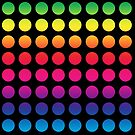 Circles Of Colors Rainbow by dkatesmith