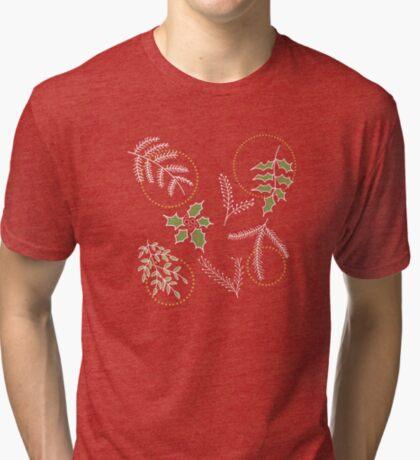 Classic Xmas #redbubble #xmas Tri-blend T-Shirt
