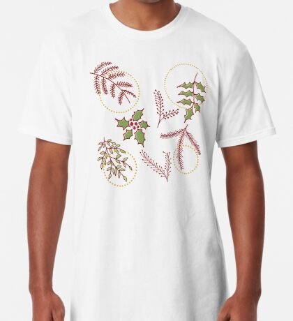 Classic Xmas #redbubble #xmas Long T-Shirt