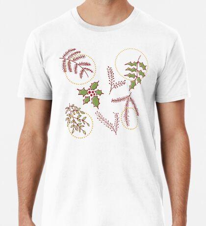 Classic Xmas #redbubble #xmas Premium T-Shirt