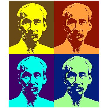 Ho Chi Minh Pop Art Design by Chunga