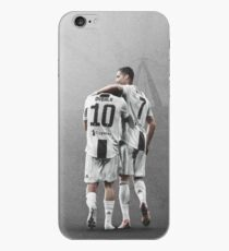 Illustration Dybala and Ronaldo Art iPhone Case