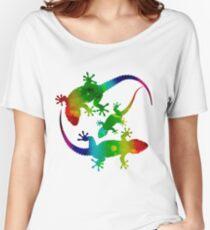 3 Geckos Women's Relaxed Fit T-Shirt