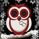 A Winter`s Owl by LoneAngel