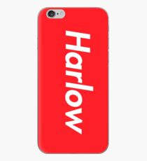 Hello My Name Is Harlow Name Tag iPhone Case