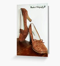 Steve Madden Shoes Greeting Card