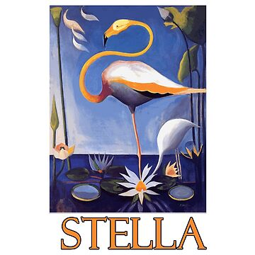 Flamingo by Joseph Stella by Chunga