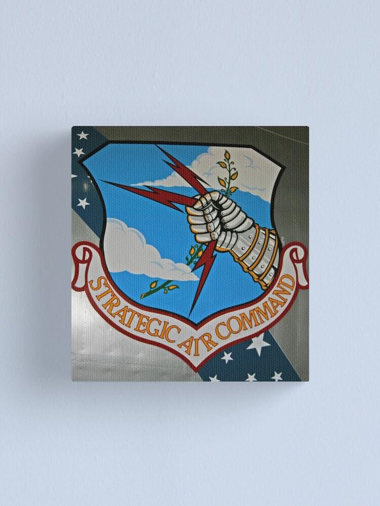 Alternate view of Strategic Air Command Canvas Print