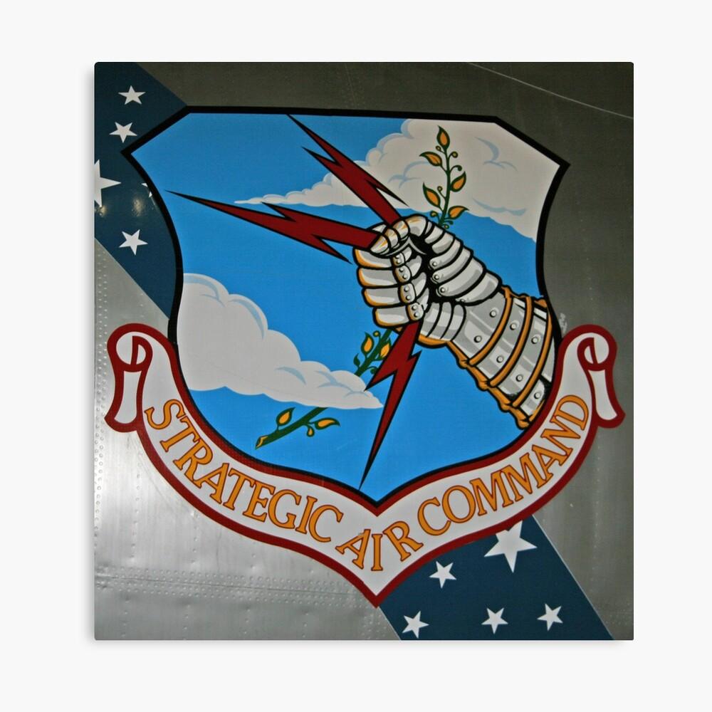 Strategic Air Command Canvas Print