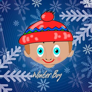 Toon Boy 7a Winter in Snow by ZipaC