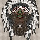 American Bison by artlovepassion