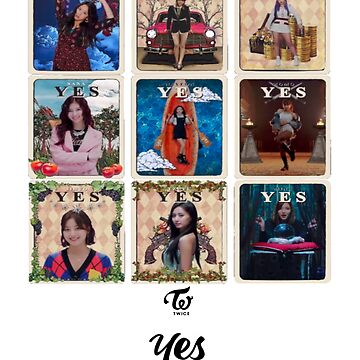 TWICE - YesOrYes by mugendesigns