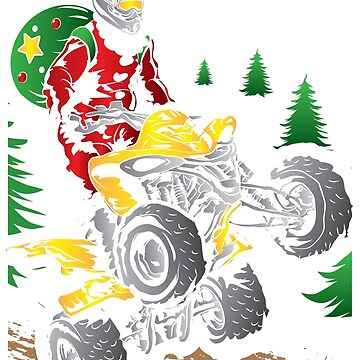 Santa Riding ATV Christmas Quad by offroadstyles