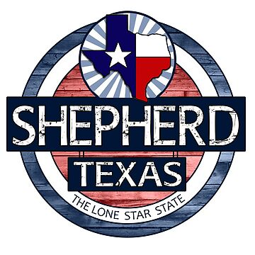 Shepherd Texas rustic wood circle by artisticattitud