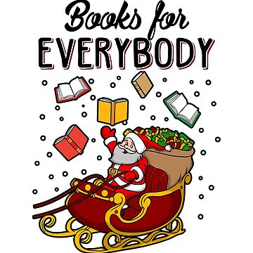 Books For Everybody! Bookish Ugly Christmas Sweater by KsuAnn