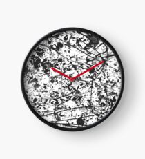 Mijumi Pollock Black and White Clock
