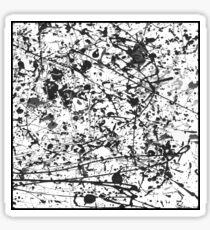 Mijumi Pollock Black and White Sticker