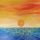 Dancing Sun on the Water by CarolineLembke