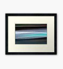 Time in Motion #3 Framed Print