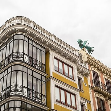 Gallivanting Around Madrid is a Pure Delight - Upside Down Winged Statue by GeorgiaM