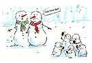 Kids these days - Funny Christmas Card by Jezhawk
