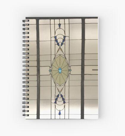Cathedral Arcade - Modern Spiral Notebook