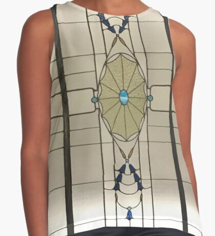 Cathedral Arcade - Modern Sleeveless Top