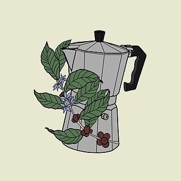 Retro Coffee Machine by viCdesign